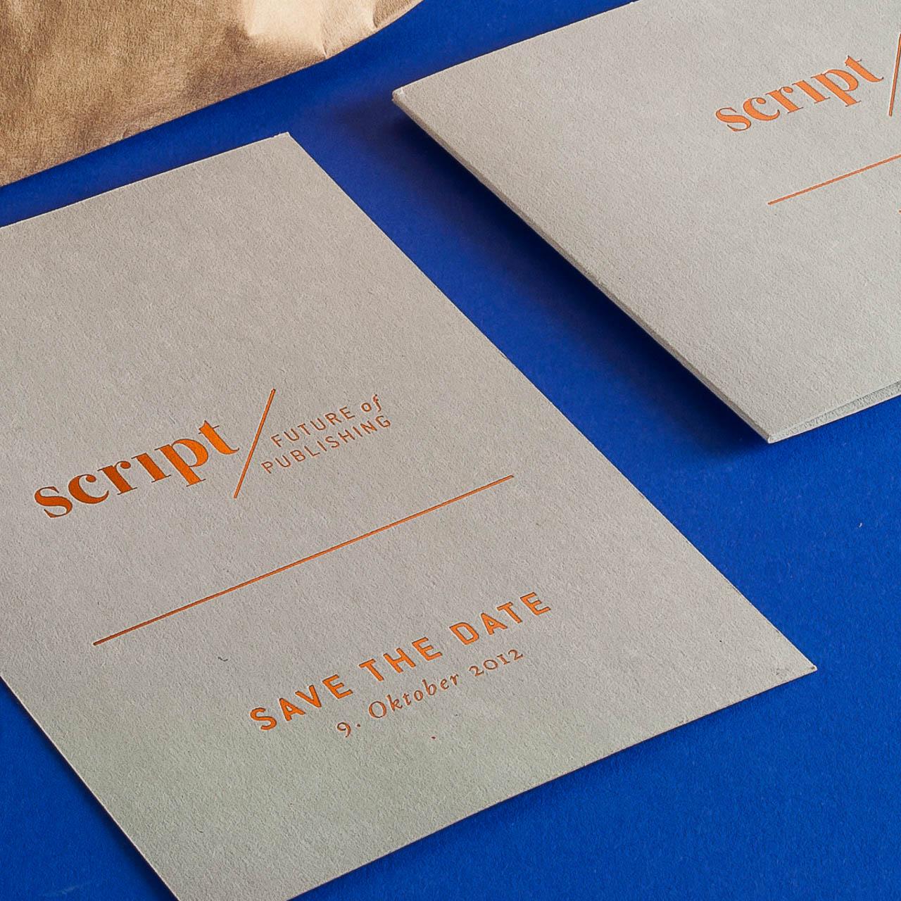 Veredelung des Printdesigns mit Folienprägung