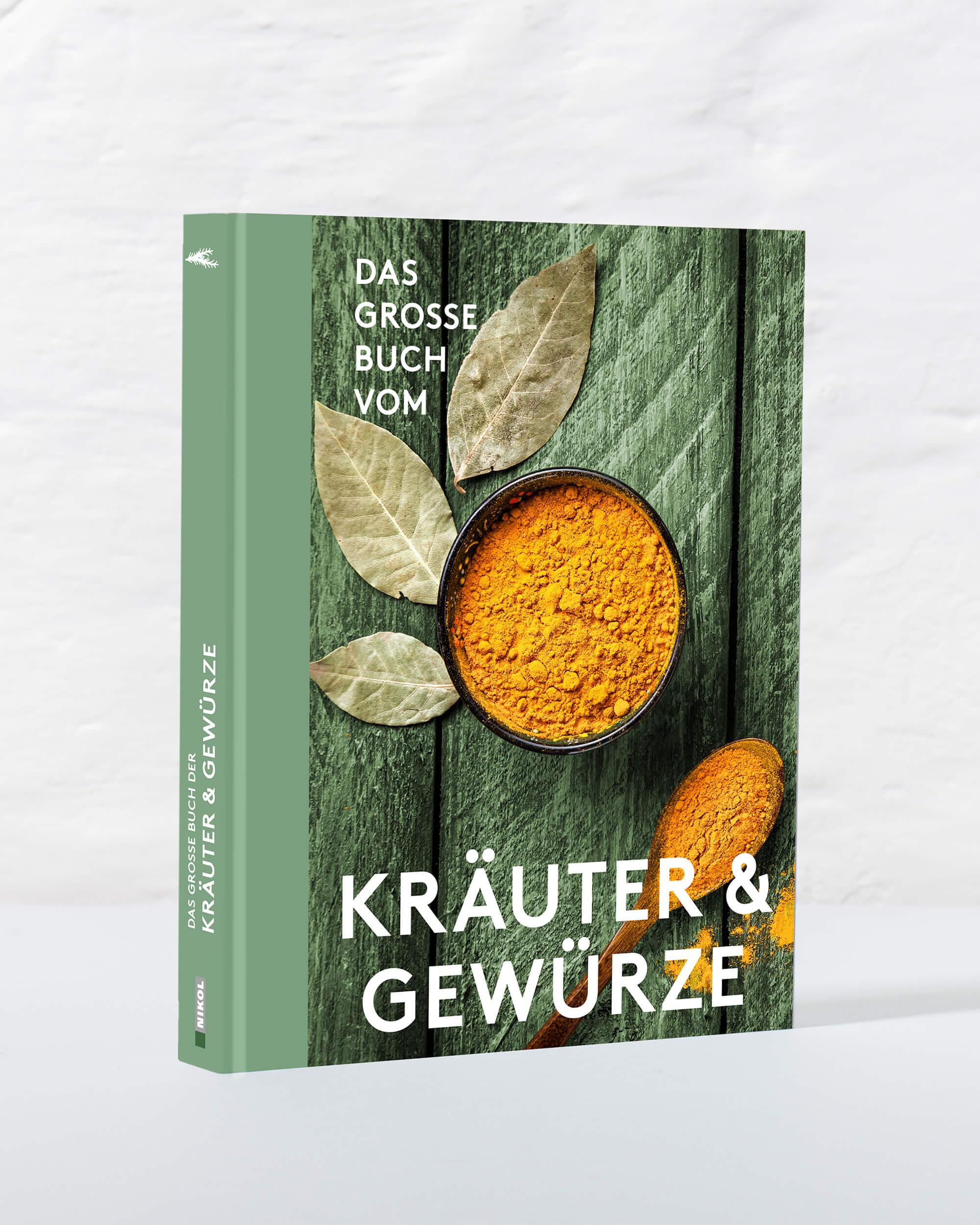 Coverdesign des Buches Kräuter und Gewürze