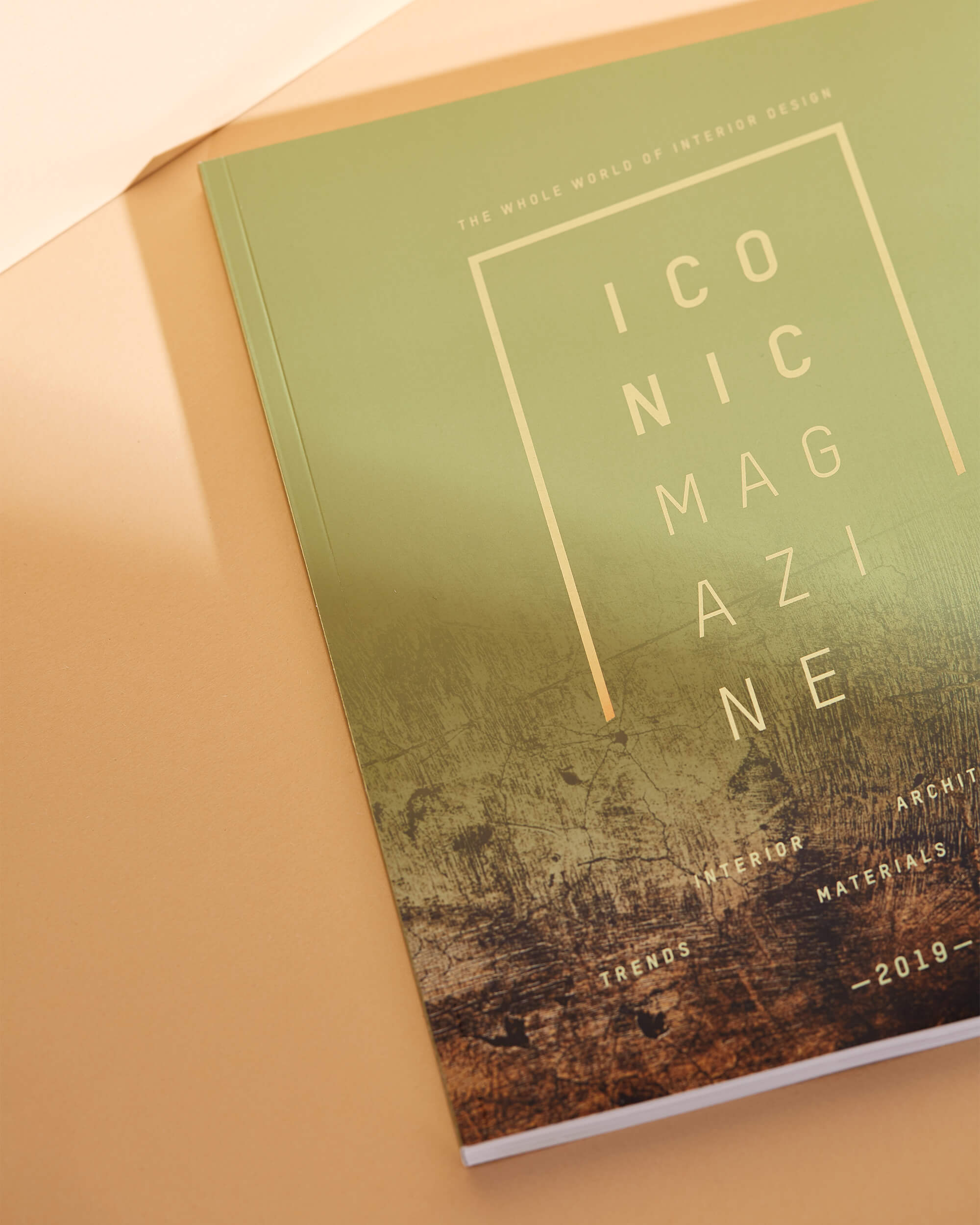 Coverdesign des Magazins