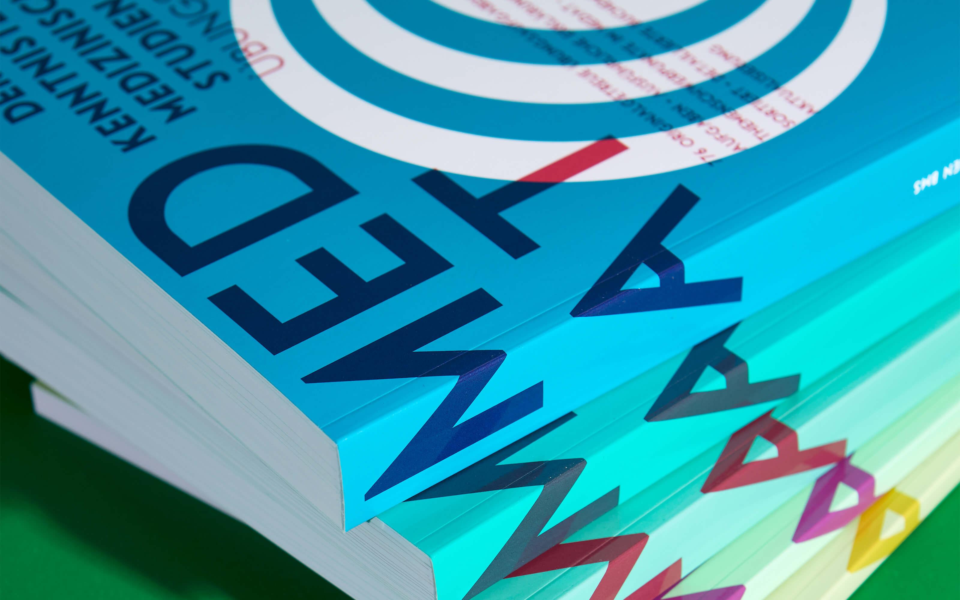 Farben der Buchreihe