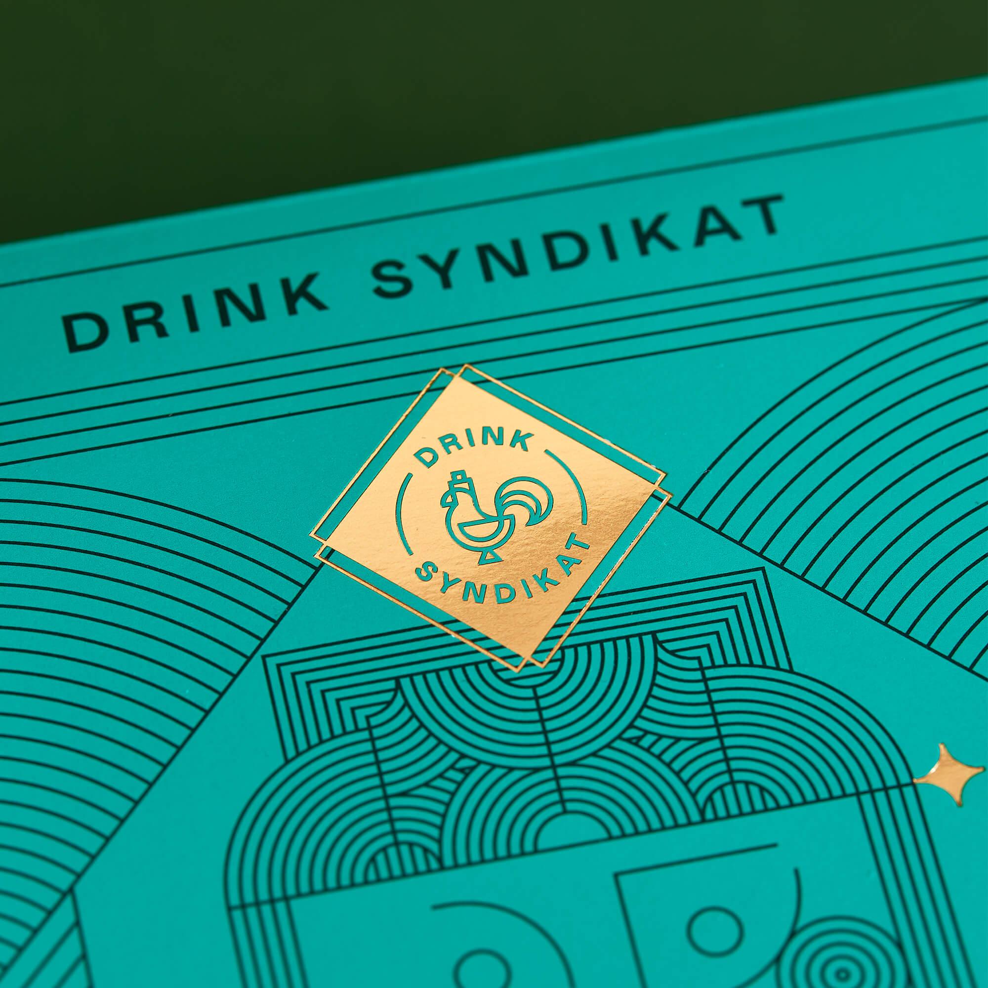 Logo mit Veredelung auf Produktverpackung