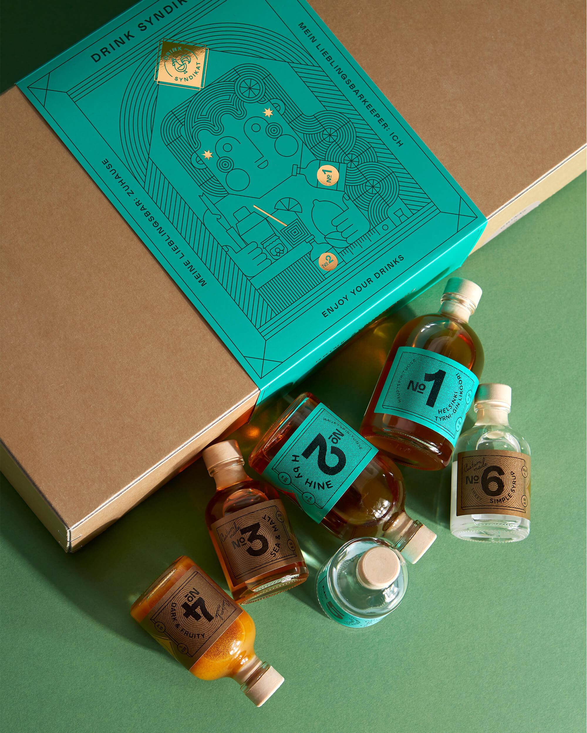 Verpackung mit Produkten