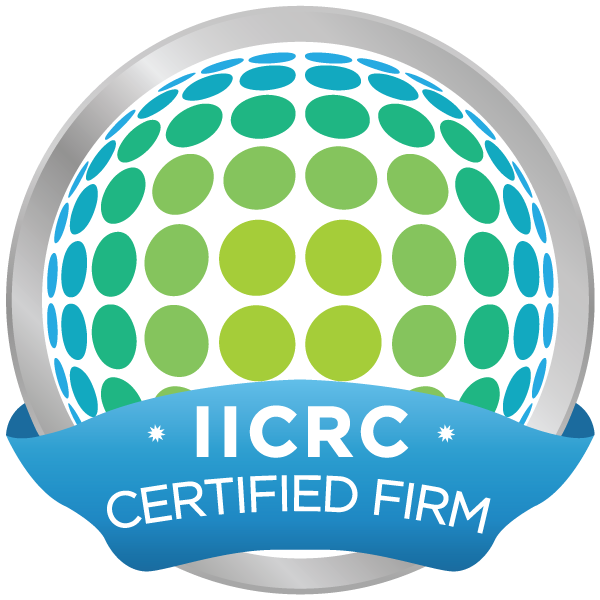 Institute of Inspection Cleaning and Restoration  verified certified firm badge