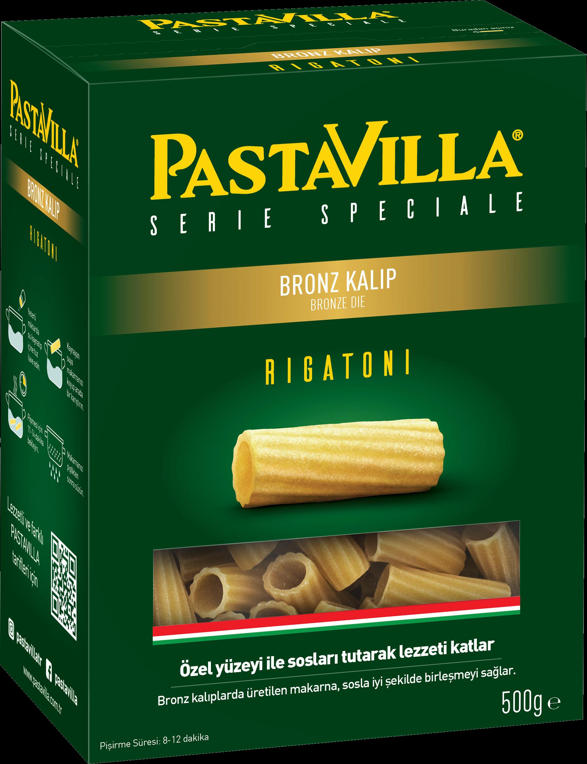 Bronz Rigatoni