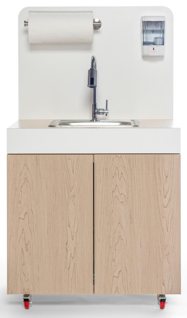 Nestl Space Portable Sink in White