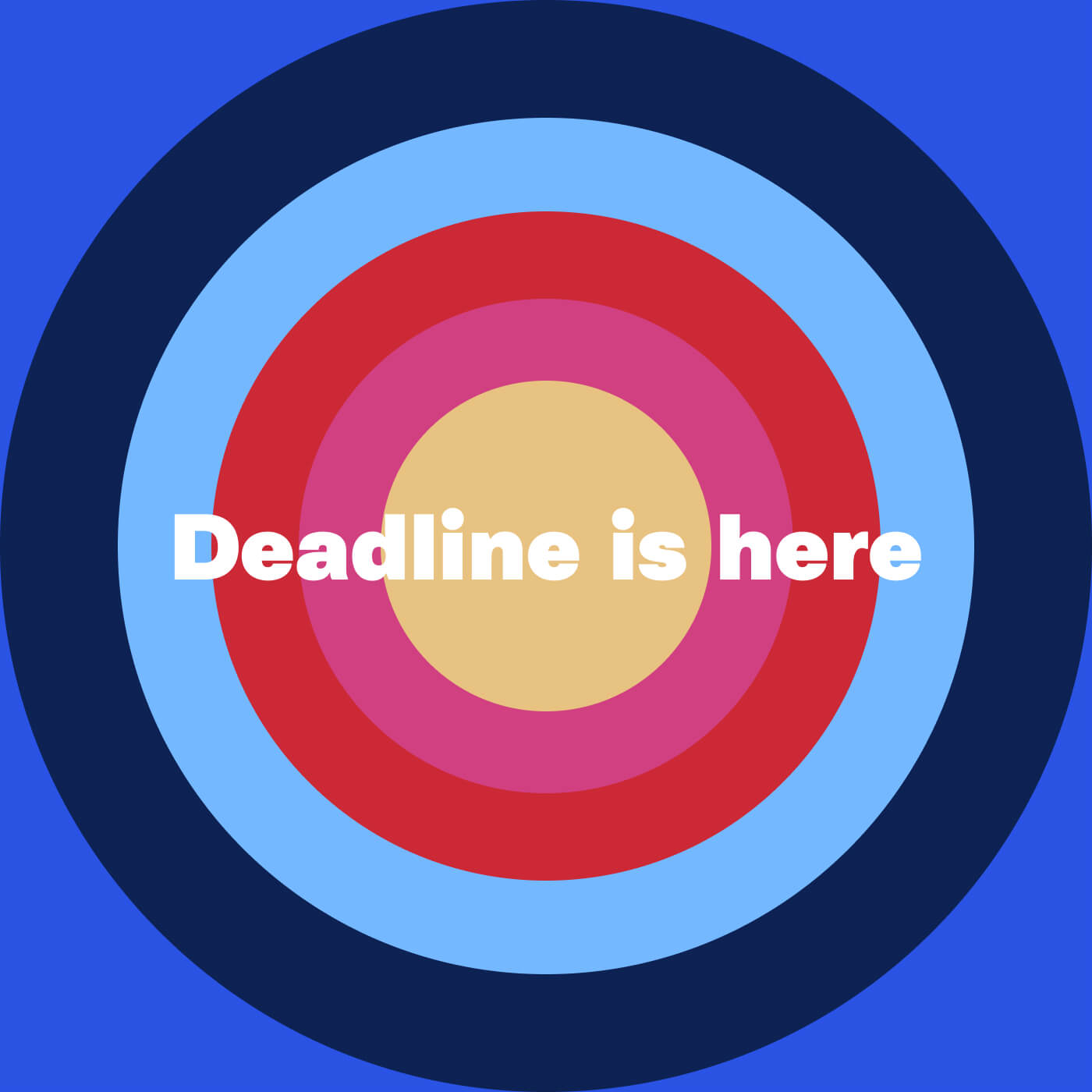 Playlist cover - Deadline is here