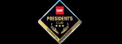 GAF President's Award Credential Logo