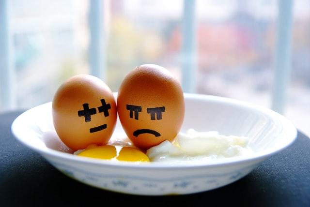 Unhappy Eggs