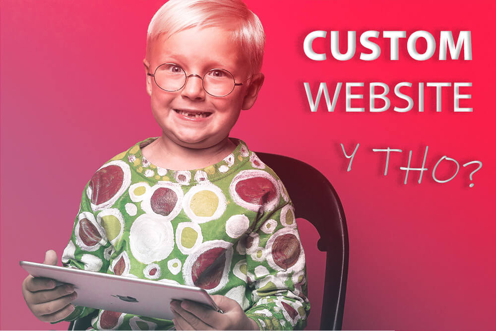 Why Invest In A Custom Designed Website