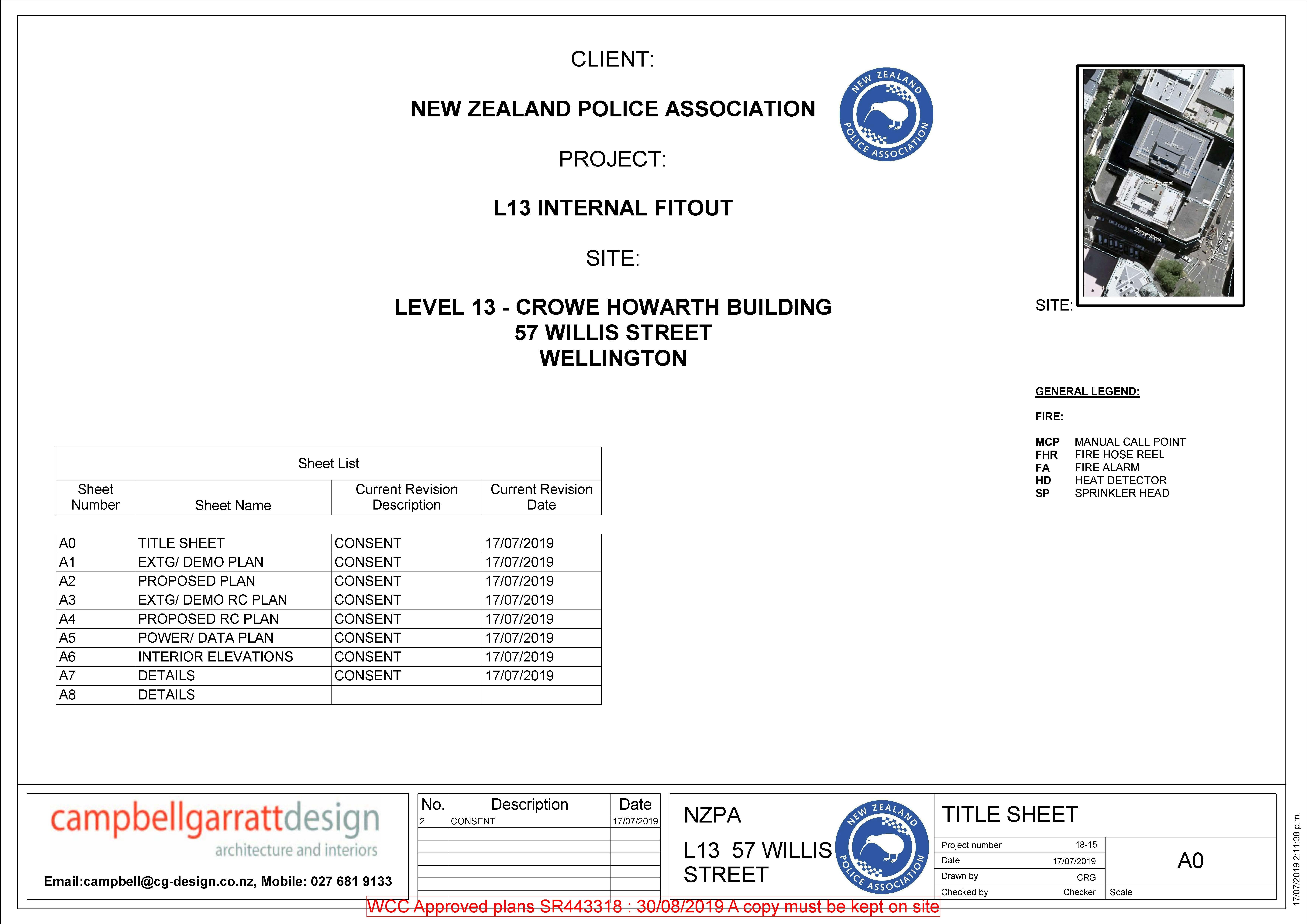 NZPA - Level 13, 57 Willis Street, Wellington