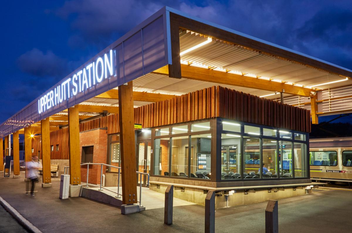 Upper Hutt Railway Station
