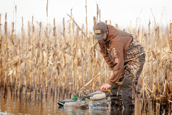 Hardcore Waterfowl Hunting Apparel