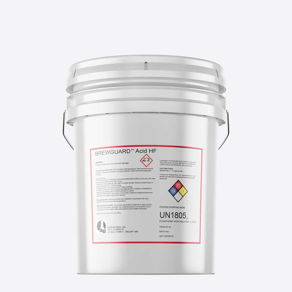High Foam Acid Detergent