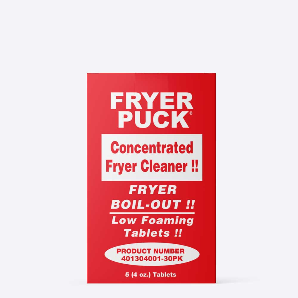 Fryer Cleaner Pucks