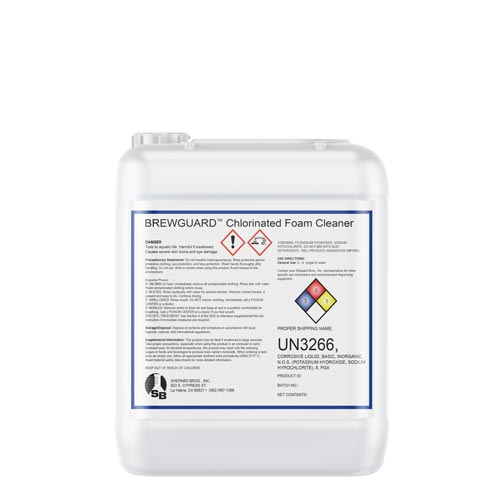 Chlorinated Liquid Detergent