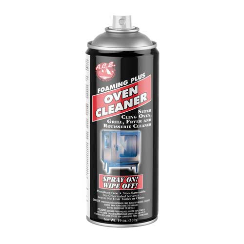 FOAMING PLUS OVEN CLEANER
