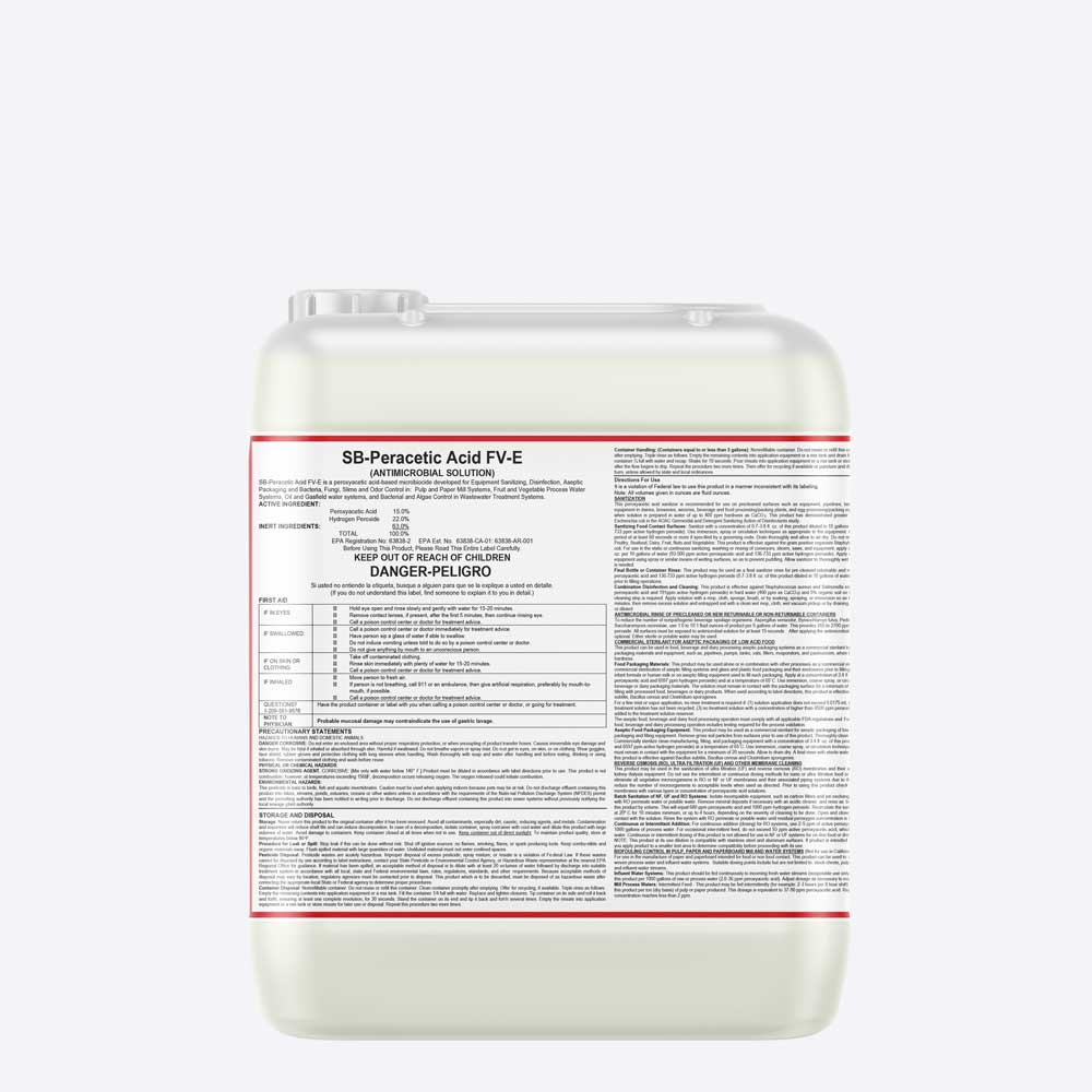 Peroxyacetic acid Sanitizer
