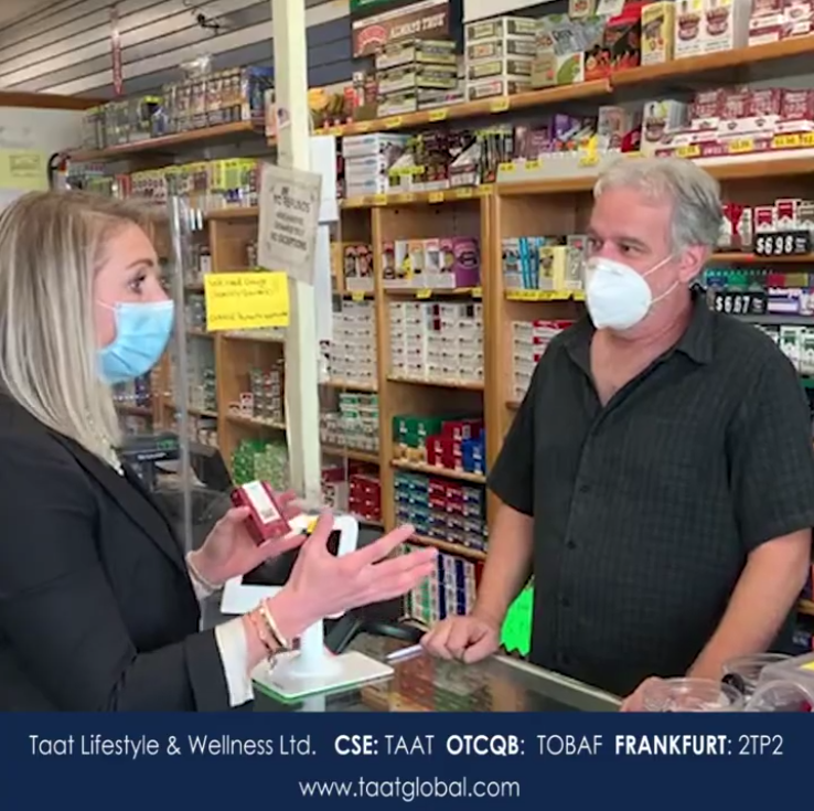 Taat's Key Accounts Manager for the Ohio sales territory comments on efforts that have resulted in commitments from retailers to carry the Taat product when it launches this quarter.