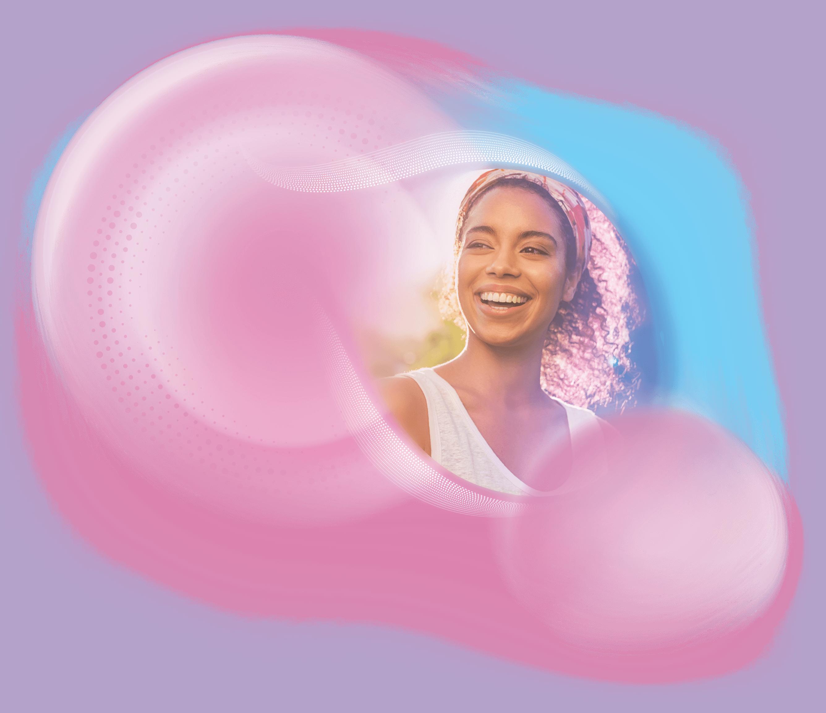 illumigyn woman smile