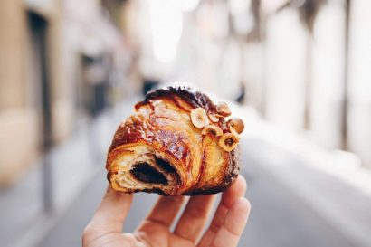 Mayer Best Bakery in Barcelona Chocolate Croissant
