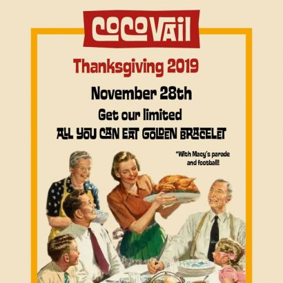 Thanksgiving in Barcelona 2019 CocoVail Beer Hall