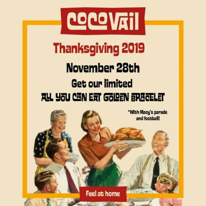 CocoVail Thanksgiving in Barcelona 2019