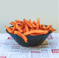 CocoVail Beer Hall Barcelona - Sweet potato fries