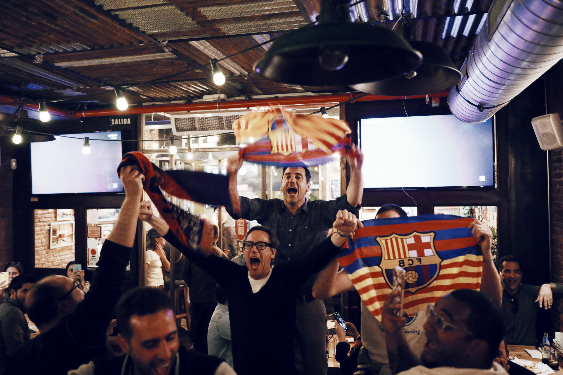 Watch Sports in Barcelona - CocoVail Beer Hall Barcelona