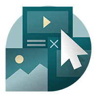 Online Digital Content Icon