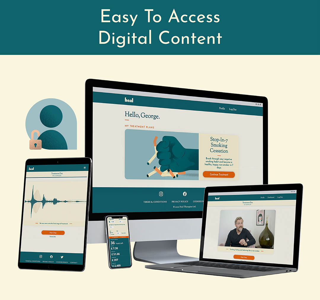 Easy To Access Digital Content