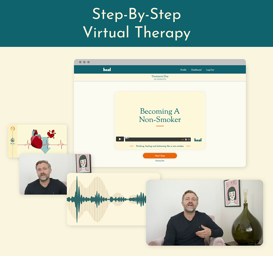 Step-By-Step Virtual Therapy