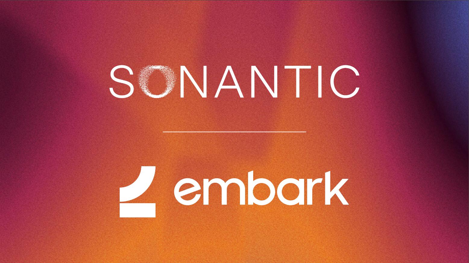 Sonantic & Embark Studios partner