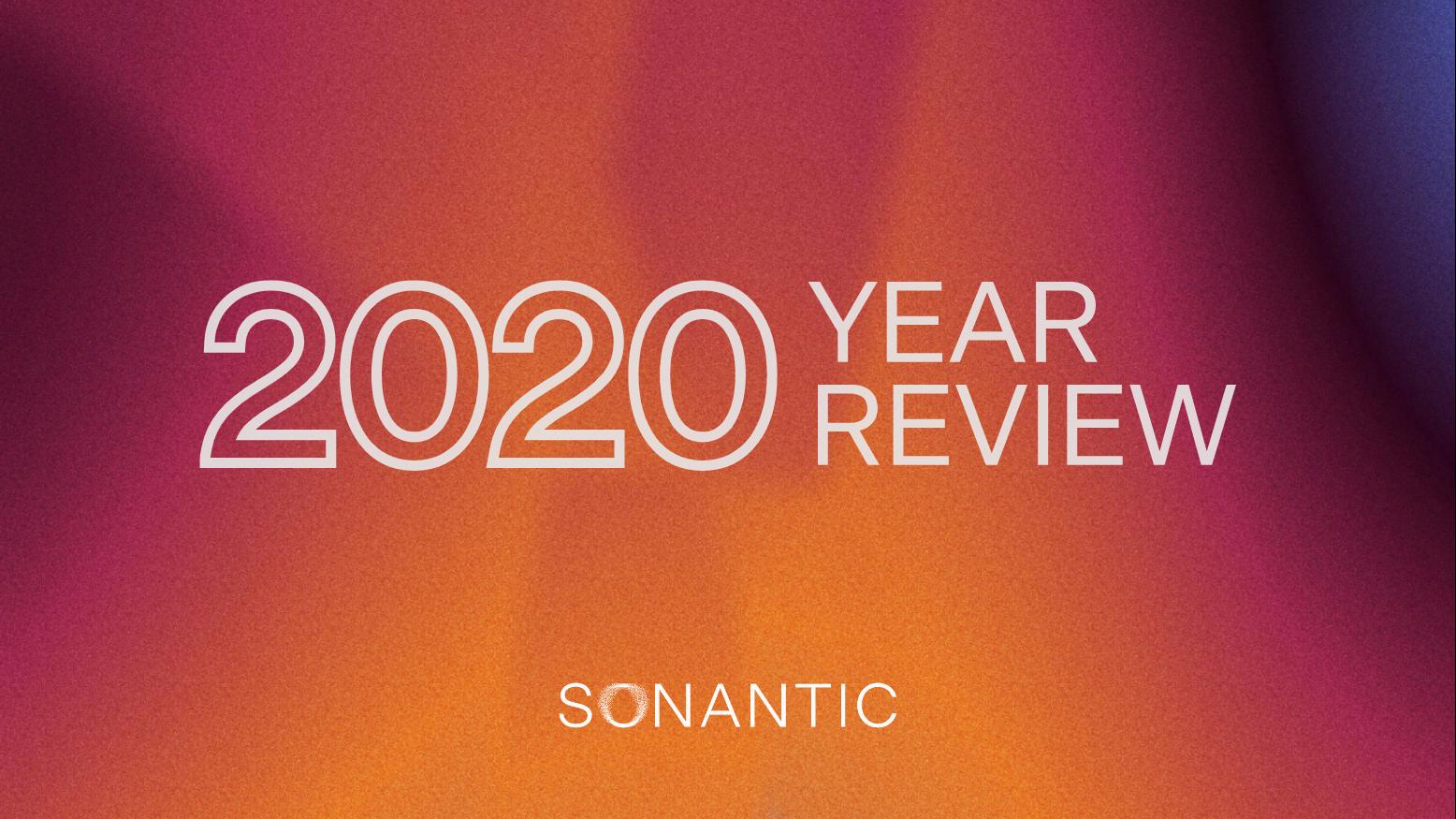 Sonantic's 2020 in review