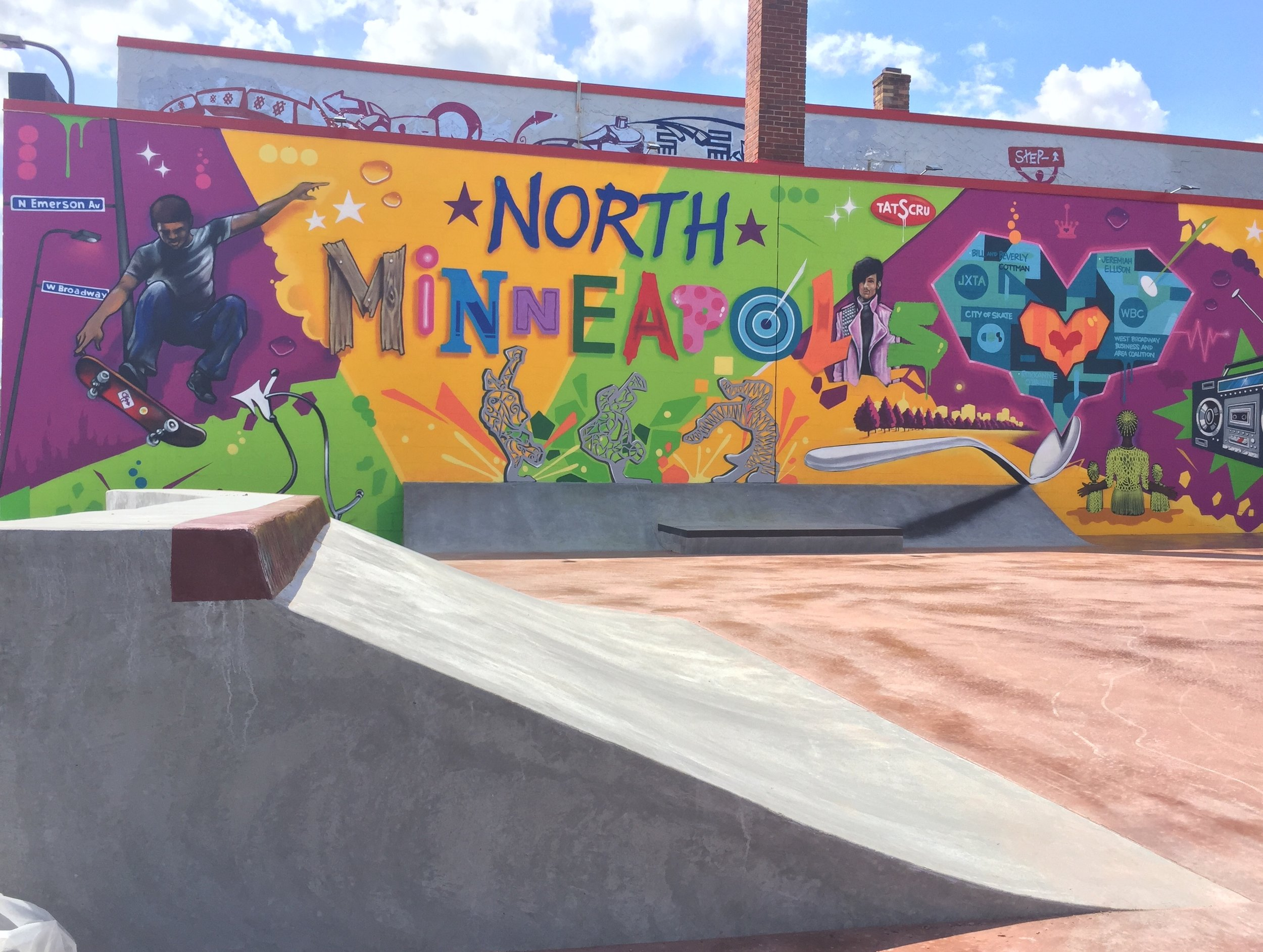 JXTA Skate-Able Art Plaza