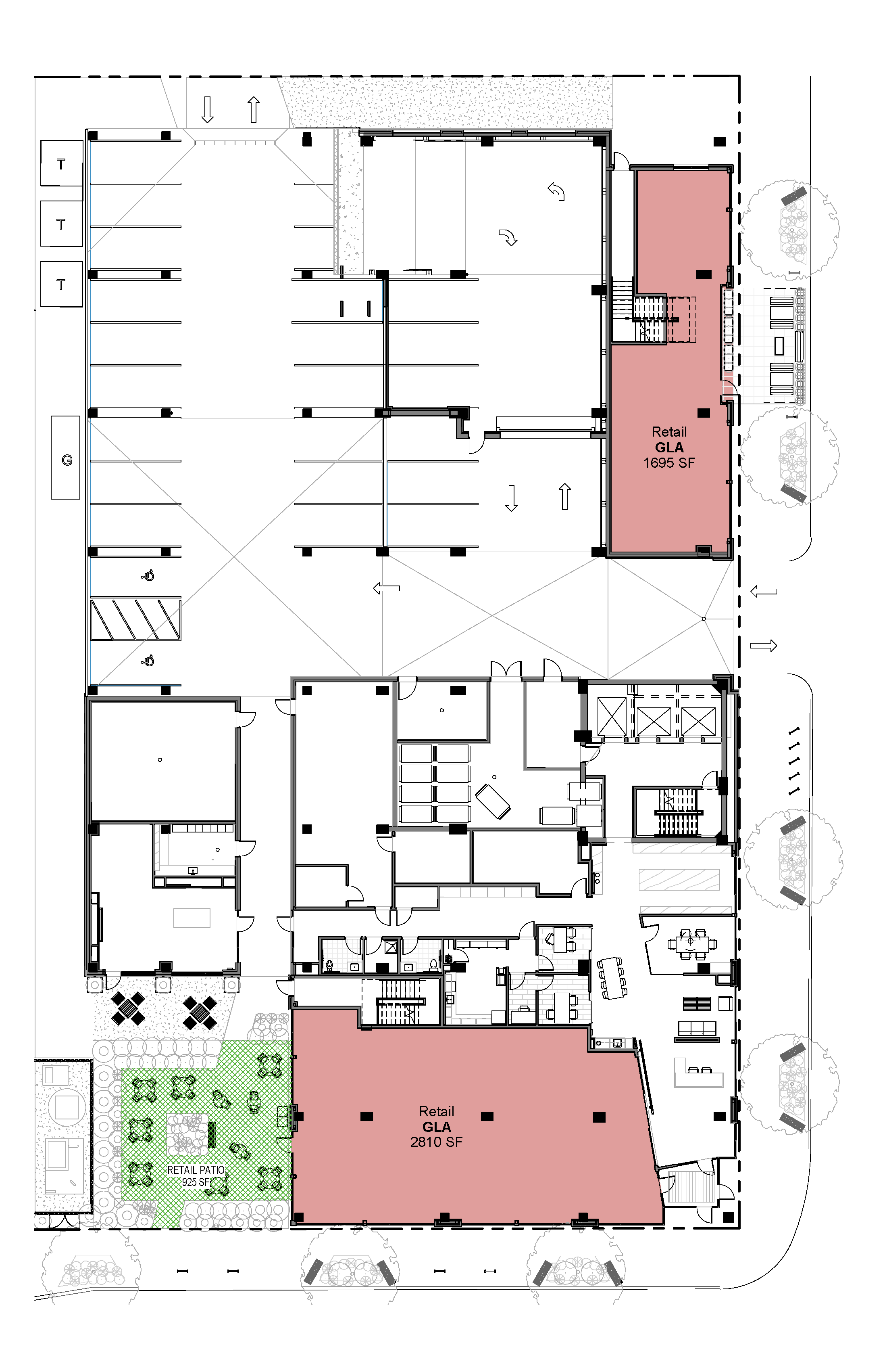 Rafter Site Plan