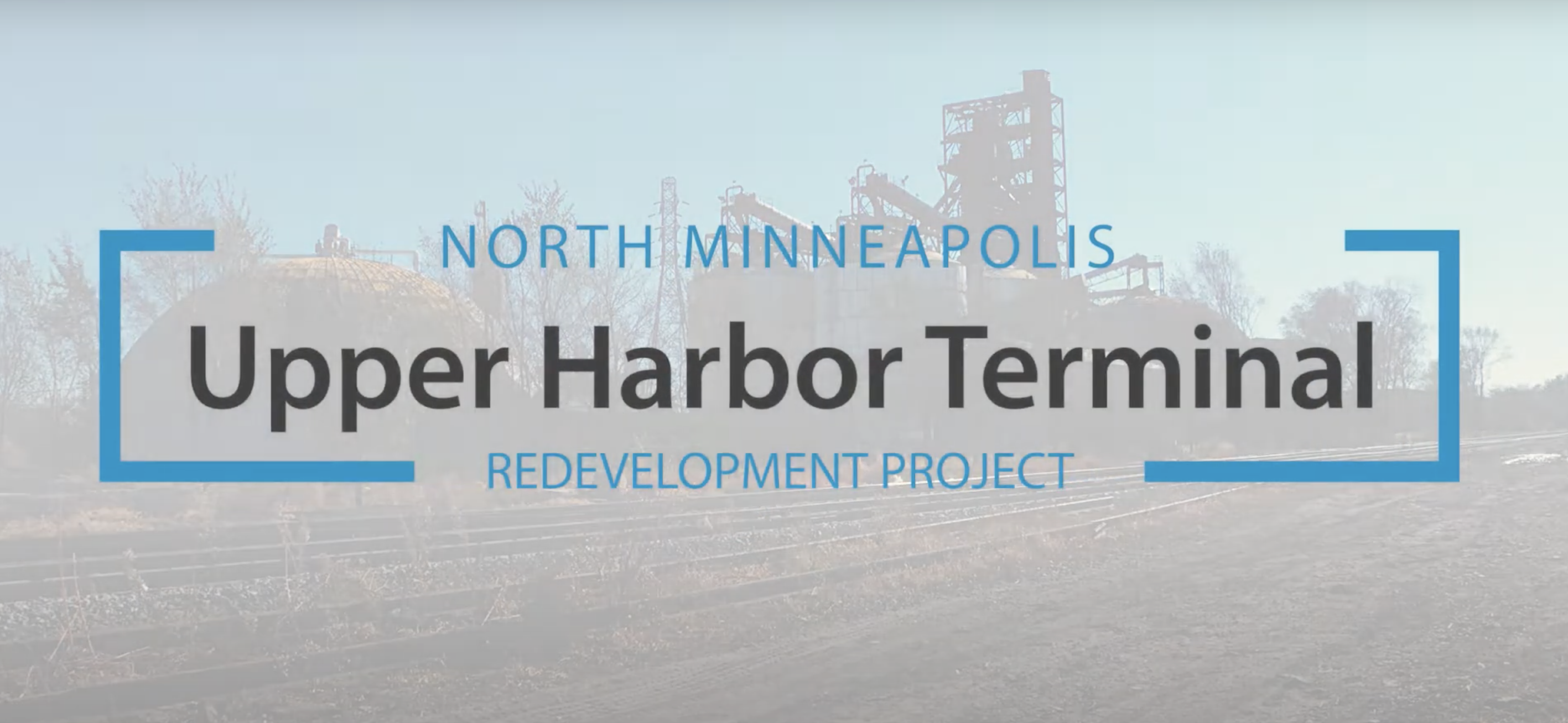 Redevelopment Plan for Upper Harbor Terminal Site