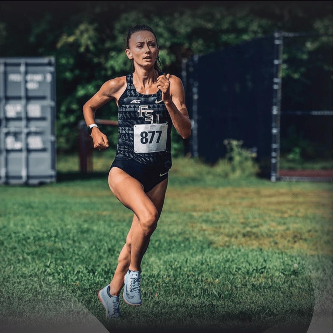 image 1100 x 1100 pixels of woman runner - Militsa
