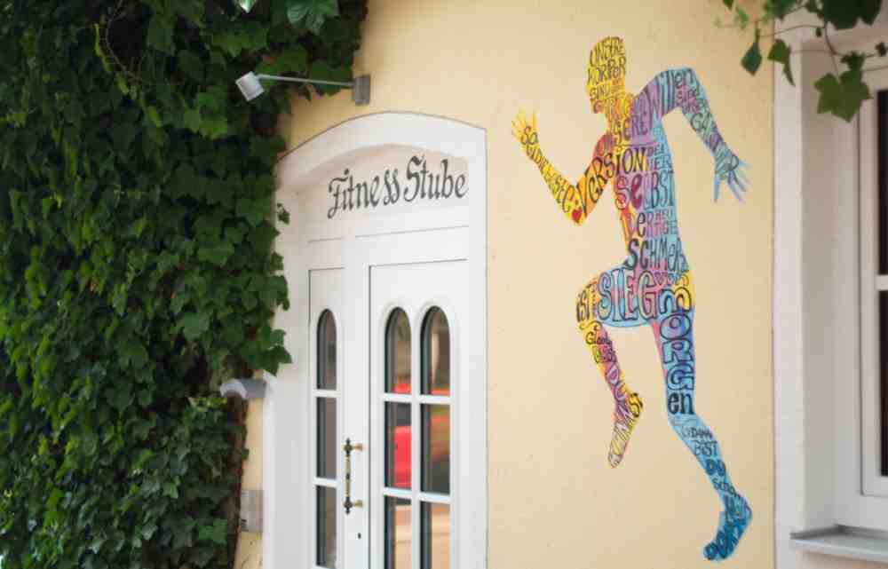 Hotel am Schlosspark zum Kurfürst Fitness room outside