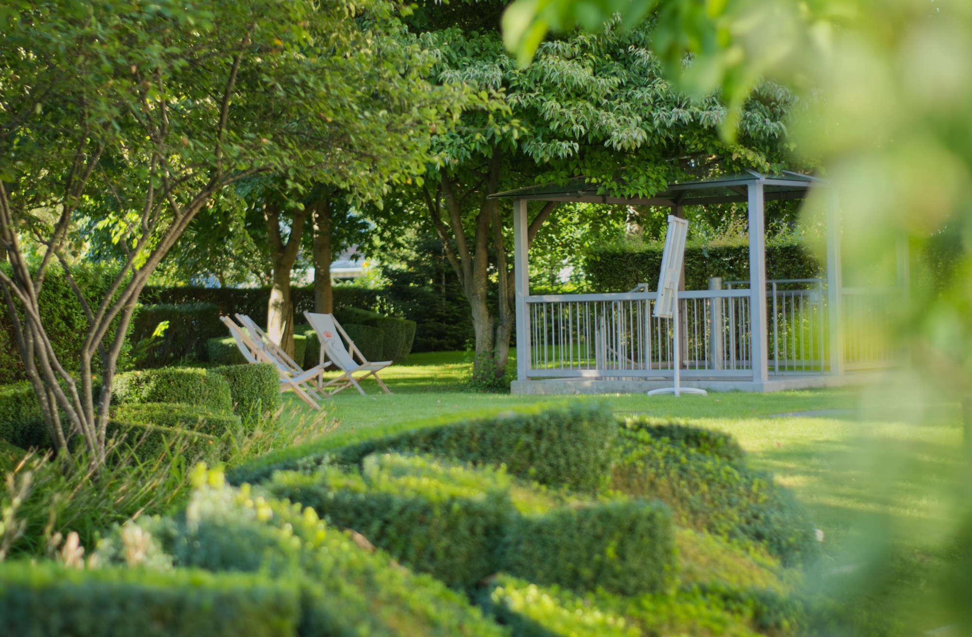 Hotel am Schlosspark zum Kurfürst Hotelgarten