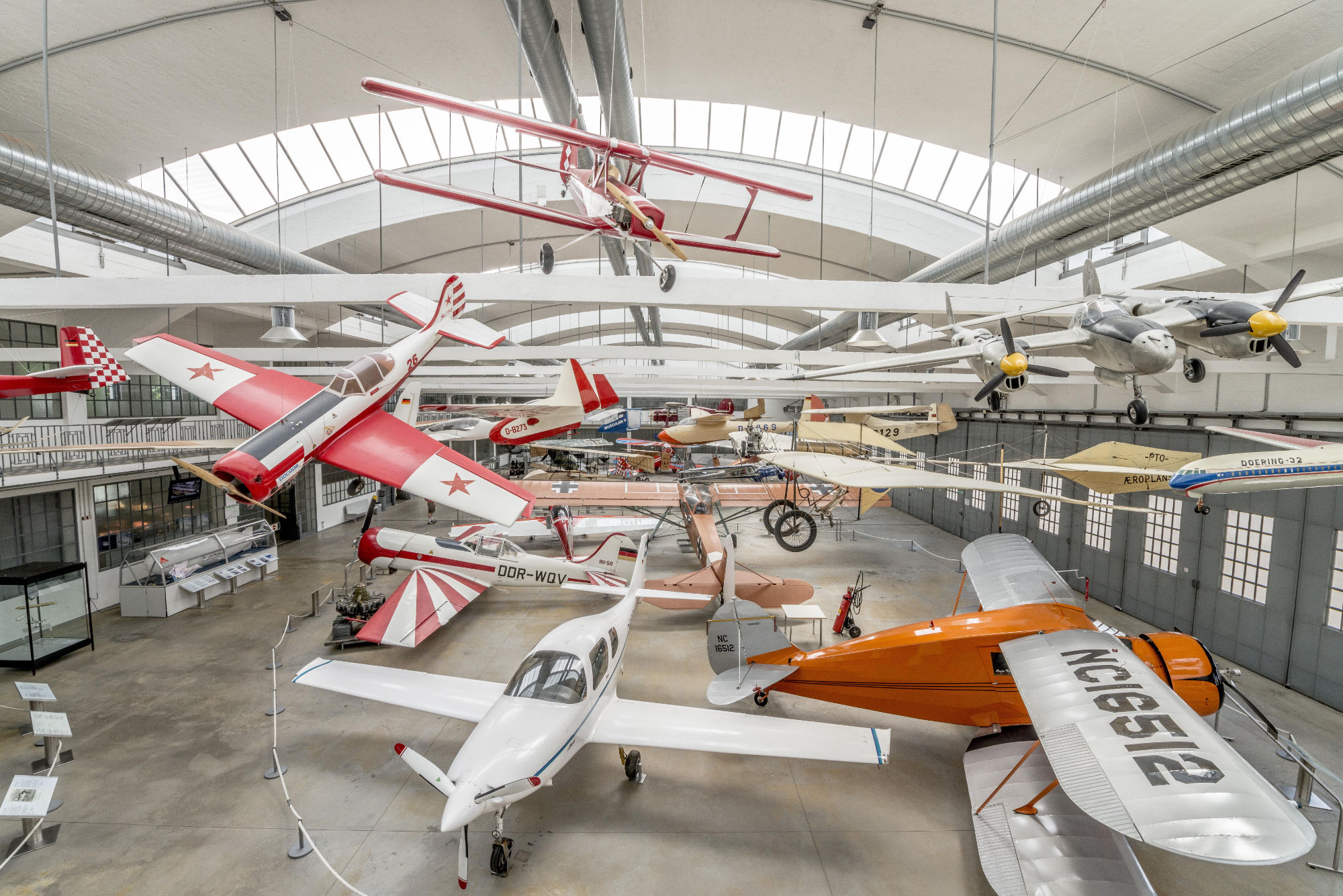 Flugwerft Schleißheim Flugzeughangar