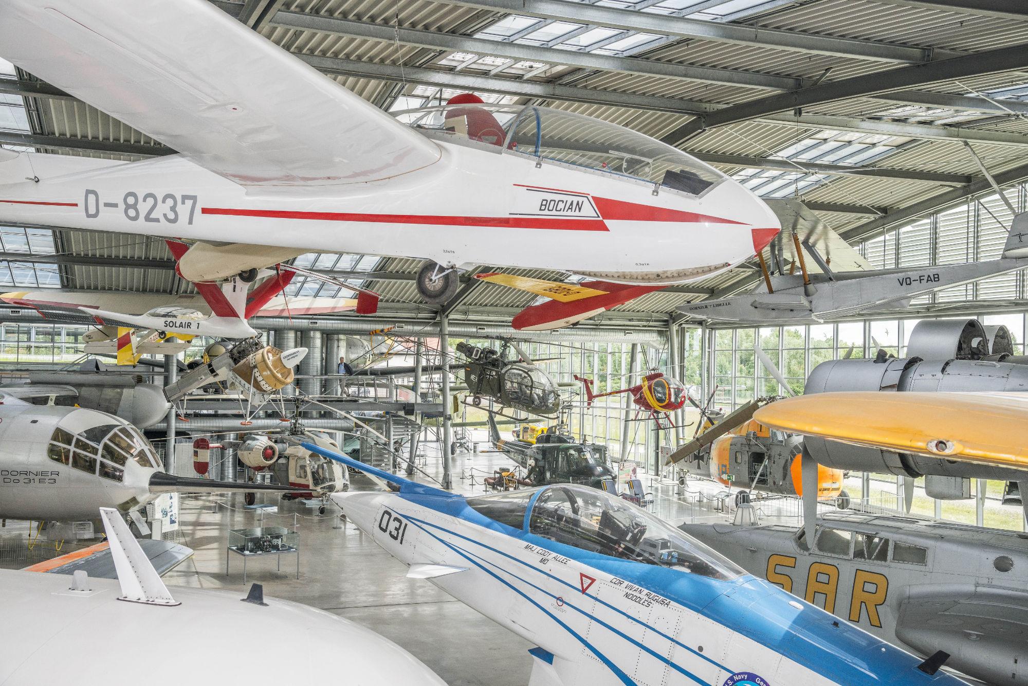 Flugwerft Schleißheim Flugzeughalle