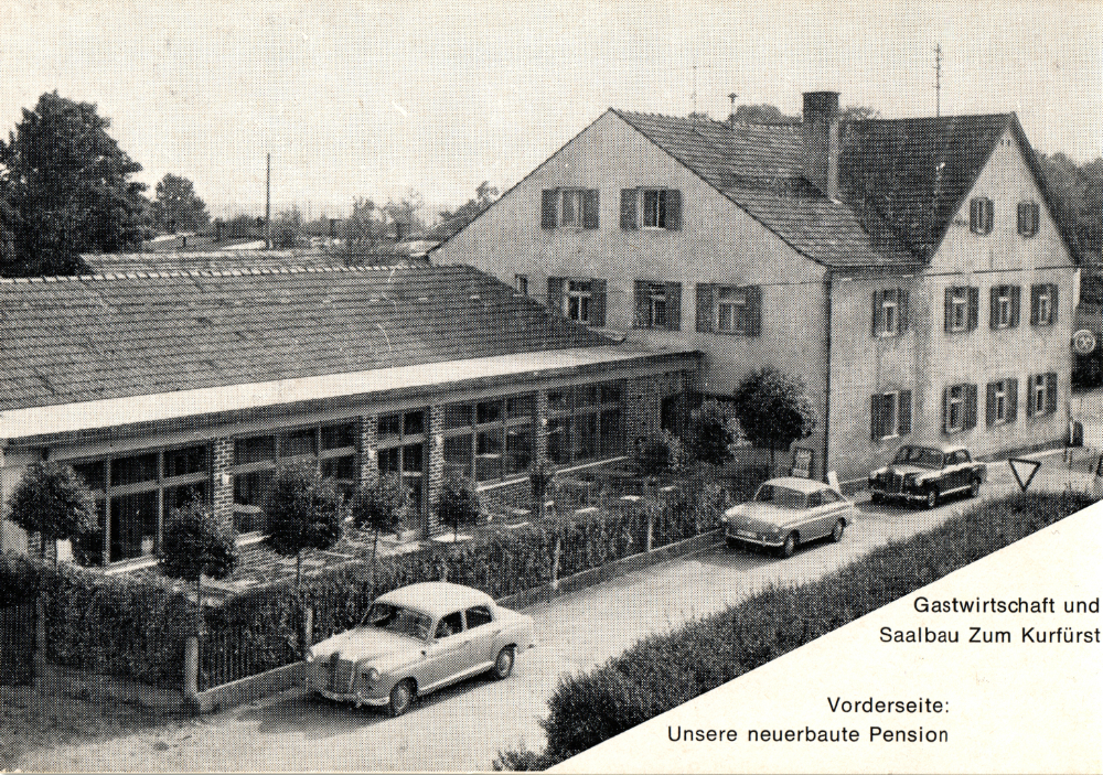 Old picture of the restaurant