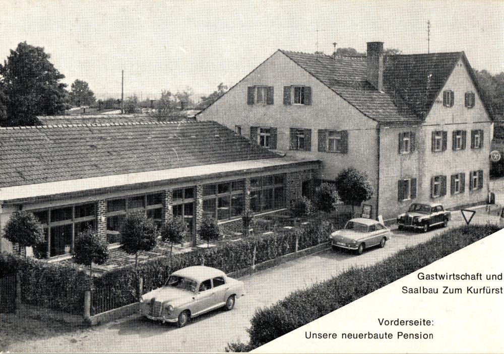 Altes bild des Restaurants