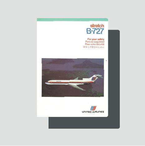 United B727 Strech