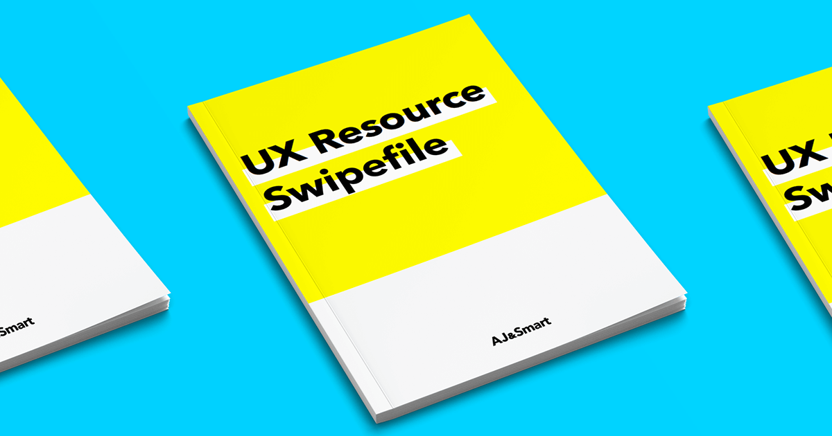 UX Resources Swipefile. Free resources to learn UX