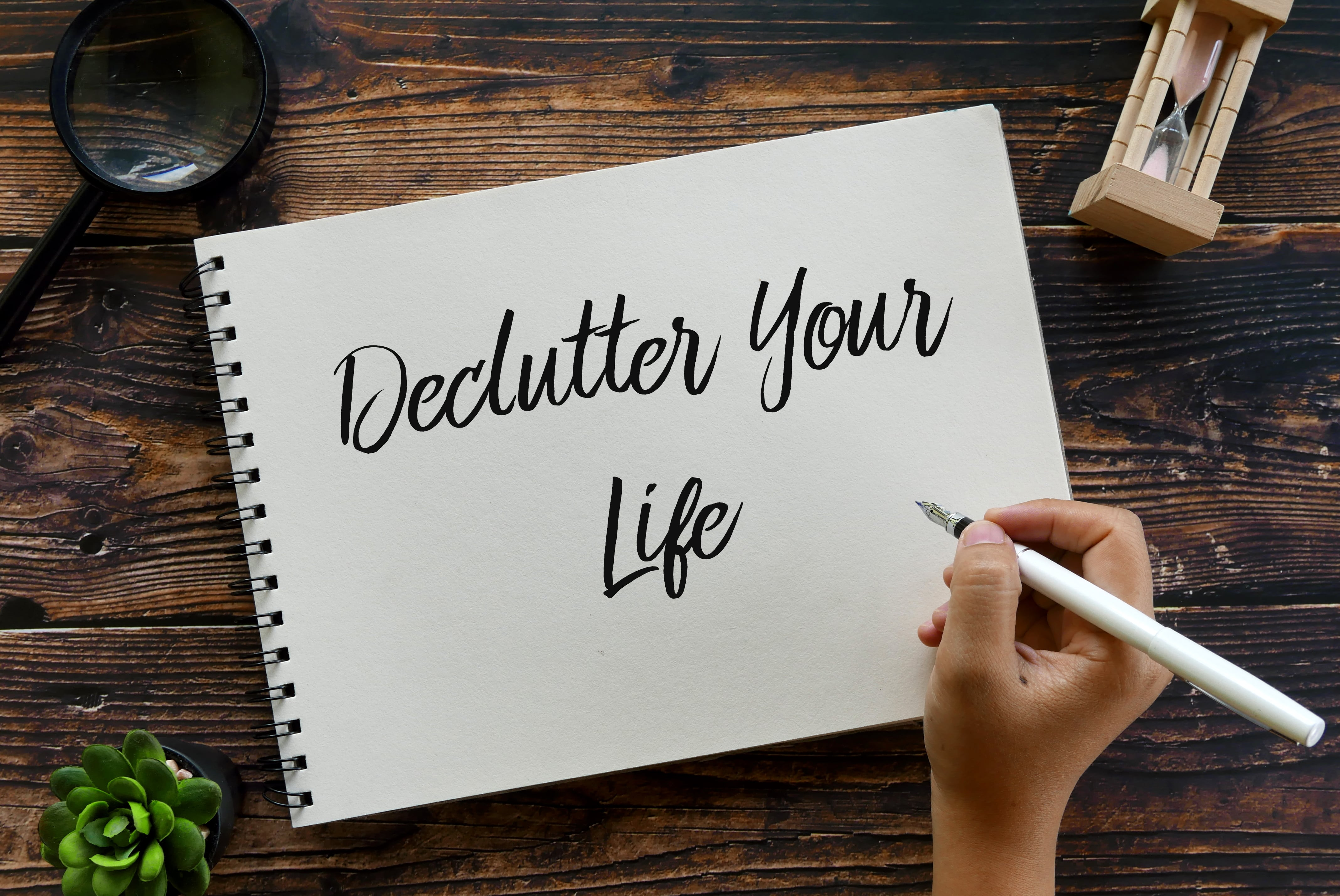 How to Declutter Without Feeling Overwhelmed.