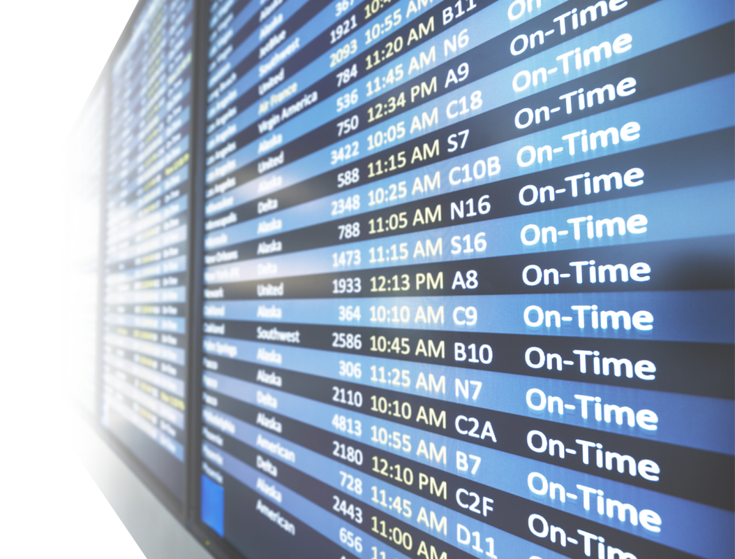 Flight Time Flight Status Arrival Departure Board