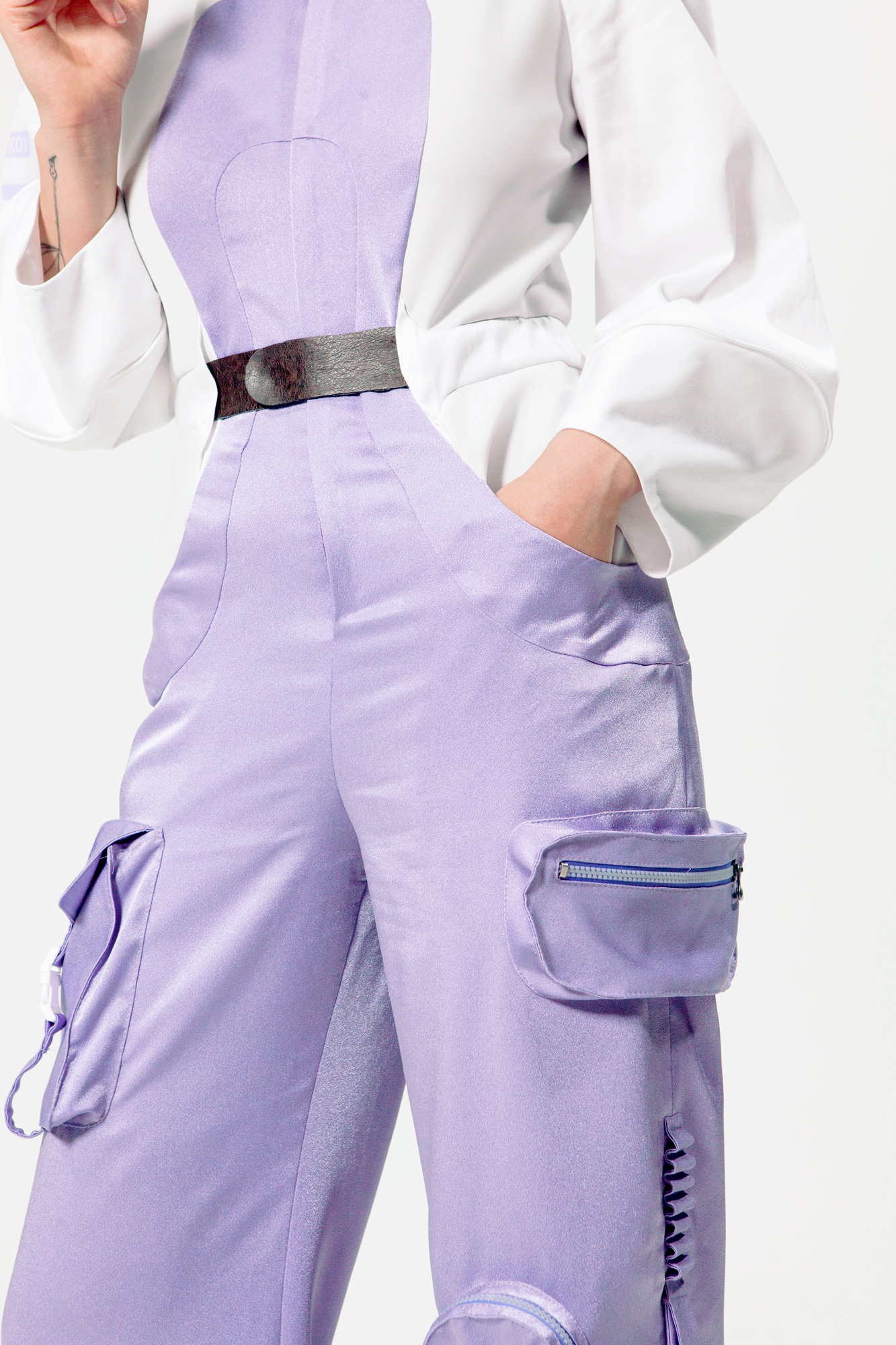 GEAR cargo overall with pockets and pen loops on leg