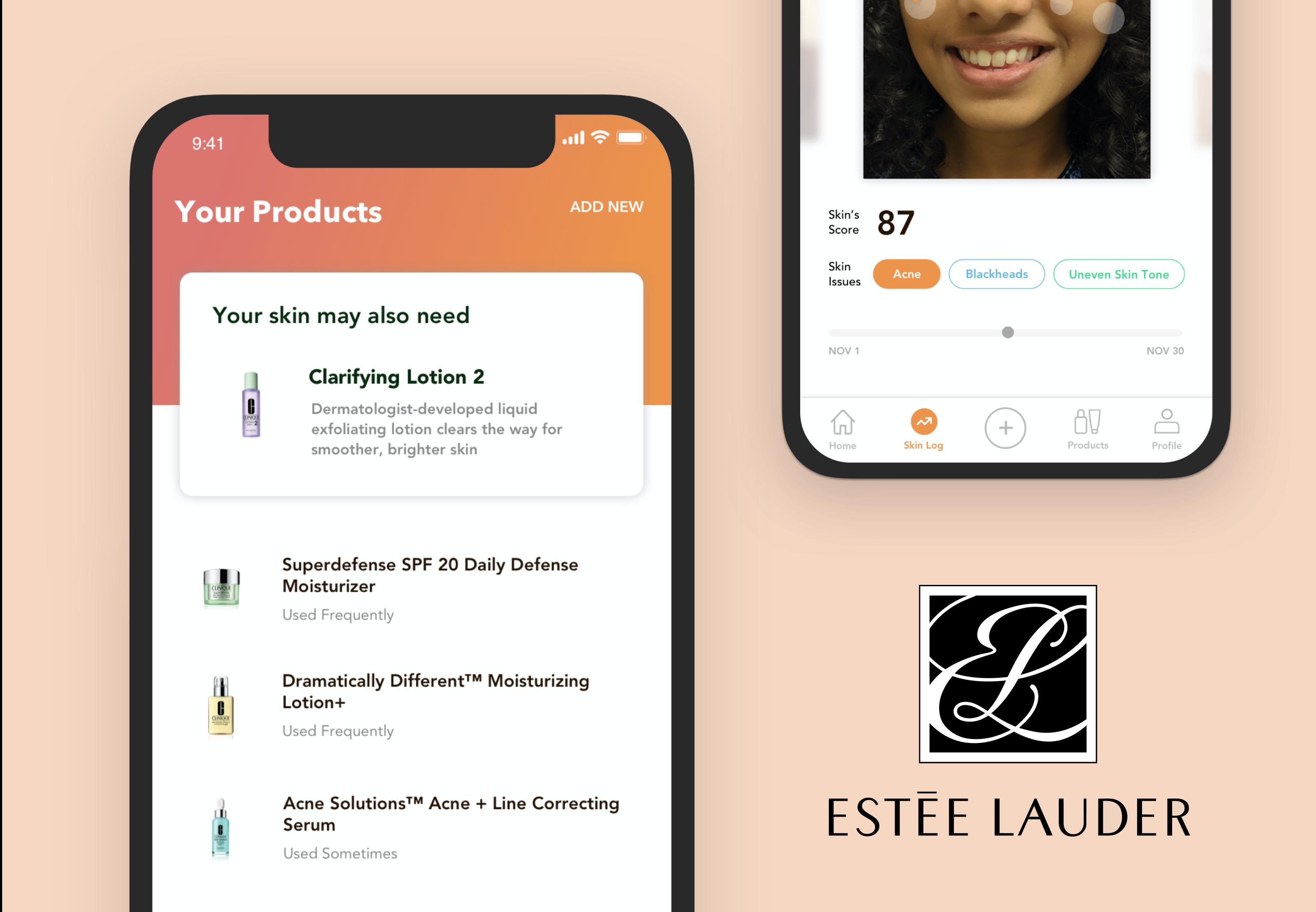 Skincare App for The Estee Lauder Companies