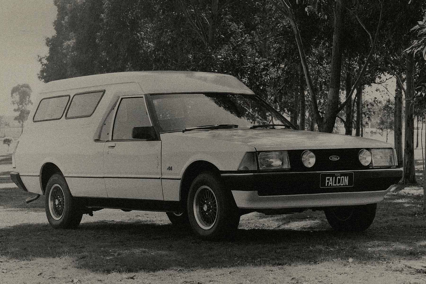 Falcon panel van car
